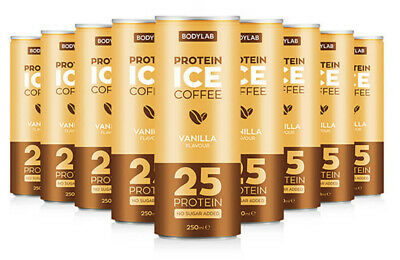 Bodylab Protein Ice Coffee Vanilla High Protein Drink 250 ml Pack 1 6 12 24