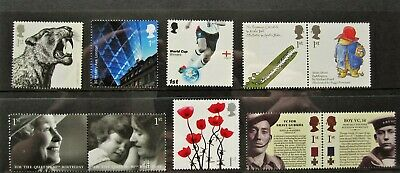 10 first class stamps for the price of 9 - Royal Mail mint good for posting