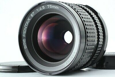 【MINT+++】 PENTAX SMC P 67 75mm f/4.5 Late Model Lens for 6x7 II from Japan #1149