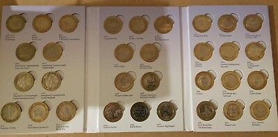 Rare Collectable  £2 Coins - 1999 - 2018 Including  Commonwealth ,Olympic , Etc.