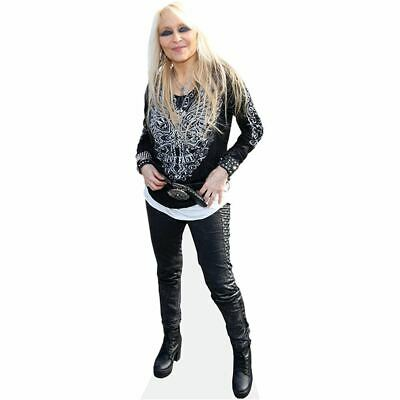 Doro Pesch (Leather Trousers) Cardboard Cutout (lifesize). Standee.