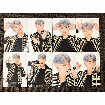 BTS RM MINI PHOTOCARD Full Set of 8 SPEAK YOURSELF LOVE YOURSELF JP OFFICIAL