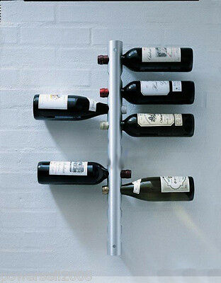 New European Fashion Creative Stainless Steel 12 Bottles Wine Rack Holder &$