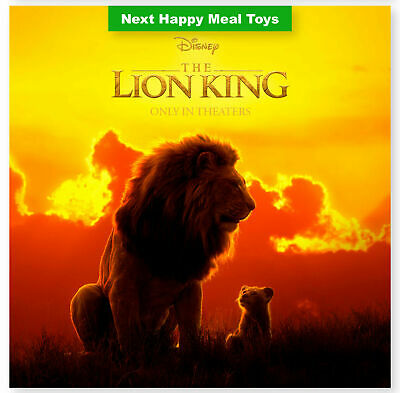 2019 McDONALD'S THE LION KING HAPPY MEAL TOYS - THIS IS THE END