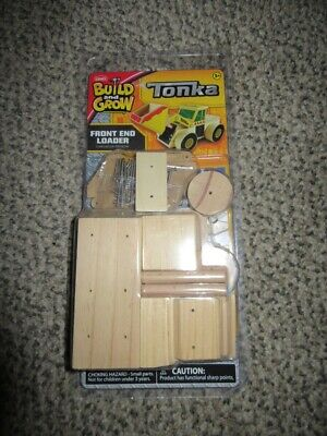 Lowes Tonka Build And Grow Front End Loader Kit Wooden Brand