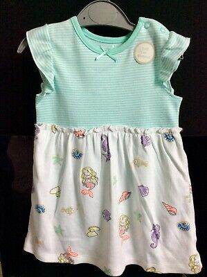 Brand new baby girls dress with built in bodysuit, 9-12 months