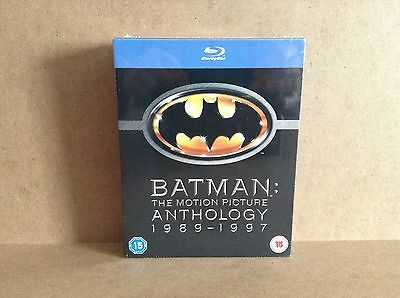 Batman The Motion Picture Anthology (Blu-ray, 1989-1997) *BRAND NEW*