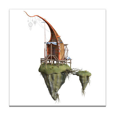 Nordic Creative Islands Canvas Poster Wall Hangings Living Room Home Art Decor