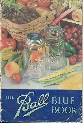 "1941 ""The Ball Blue Book of Canning & Preserving Recipes"" Edition U"