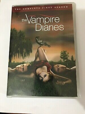 The Vampire Diaries The Complete First Season Dvd 2010 Widescreen 5 Disc Set