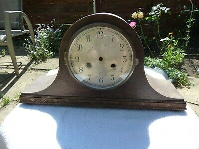 Vintage Napoleon Hat Mantel Clock Case/Dial/Bezel for spares/repairs/parts