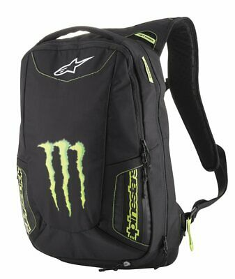 Alpinestars Motorcycle Marauder Backpack Limited monster energy collection