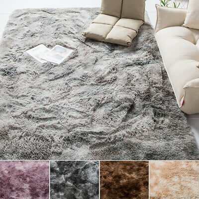Soft Fluffy Rugs Large Shaggy Area Mat Home Decor Living Room Floor Bedroom Rug