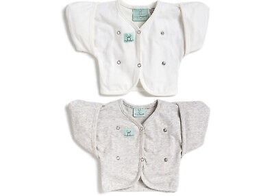 ergoPouch Butterfly Cardi 0.2 tog 2 - 6 months Swaddle Sleepy Wings Transition