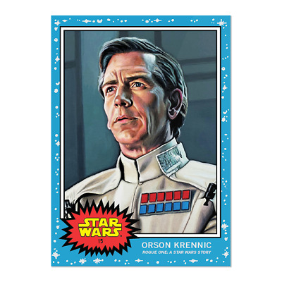 2019 Topps Living #15 Orson Krennic A New Hope Star Wars Rogue One 1977 PS