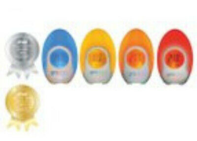 Groegg Baby Children's Room Thermometer Nightlight Mains Plug Version