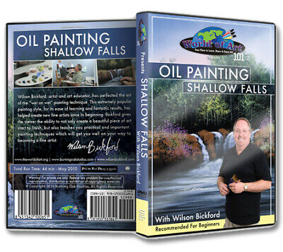 "Wilson Bickford - Video Art Lessons ""Oil Painting: Shallow Falls"" DVD"