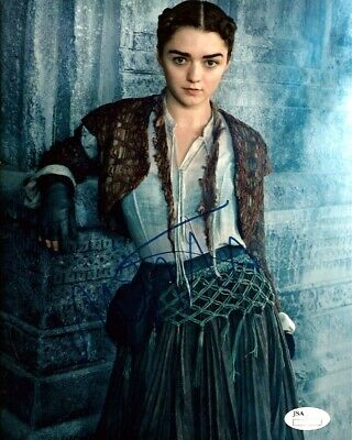 Maisie Williams Signed 8x10 Autographed REPRINT PHOTO Game of Thrones RP