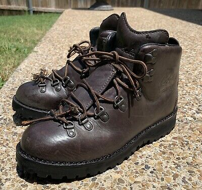 47bcaa00bef CABELAS MENS HIKING Boots Dry Plus Mid Brown 81-2514 Sz 8.5 D ...