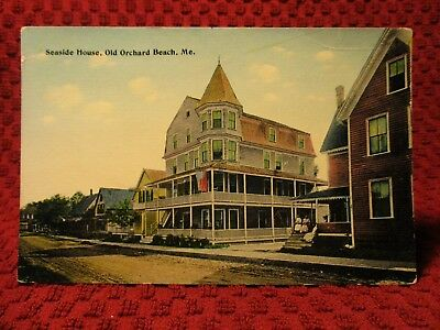 Early 1900'S. Seaside House. Old Orchard Beach, Maine. Postcard K7