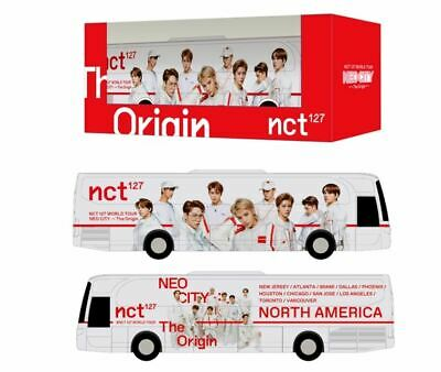 Nct 127 Smtown Official Goods Miniature Neo City Tour Bus + 3 Member Photocard