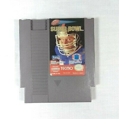Tecmo Super Bowl NES Nintendo Video Game Cartridge Only