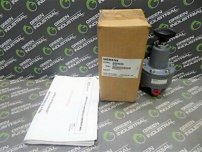 NEW Siemens 40-50 Pneumatic Regulator PON 9100007311
