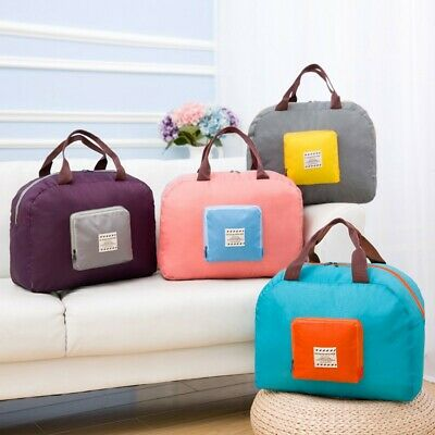 Portable Travel Bag Storage Bag Foldable Attaches to Luggage Suitcase Handles