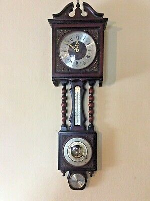 Antiguo reloj de pared  maquinaria FHS GERMANY 130-020