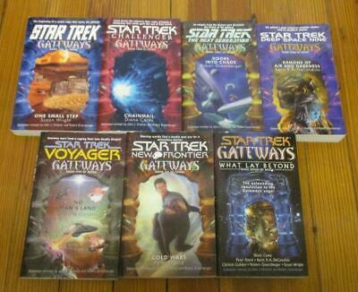 Complete Series: Star Trek Gateways (Lot of 7 PB Books)