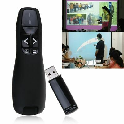 R400 2.4GHz Wireless Presenter Remote Control Presentation Laser Pointer AU Post
