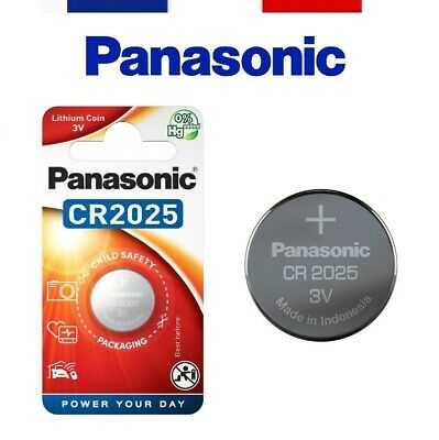 Panasonic® - Pile Bouton Lithium 3V Haute Performance Cr2016 Cr2025 Cr2032