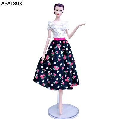 """Patchwork Floral Countryside Fashion Doll Dress For 11.5"""" Doll Clothes Outfits"""