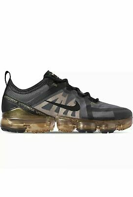 Nike Air VaporMax 2019 Running Shoes Blk/Gld