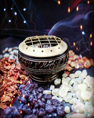 Charcoal Resin Burner - Plus Free Roll Of Charcoal