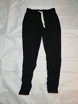 Material Girl Womens Active Black Joggers Sweatpants size M
