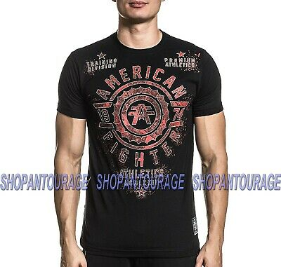 American Fighter Delphi FM8915 Short Sleeve Graphic T-shirt Top By Affliction