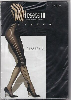 Collant WOLFORD KATE coloris Black//Black Taille L Tights.