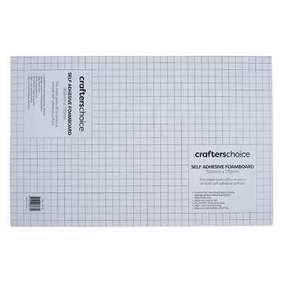 NEW Crafters Choice Self Adhesive Foam Sheet By Spotlight