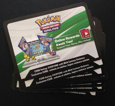 10 X Fates Collide XY Booster Pack TCGO Codes Pokemon Trading Card Game Online