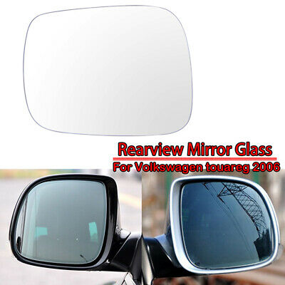 For Vw Touareg 02-06 Right Driver side Aspheric Electric wing mirror glass