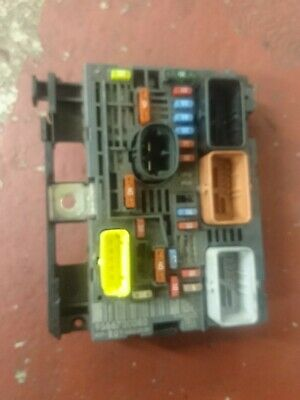 2009 C4 Picasso Genuine Fuse Box Bsm 9666700080