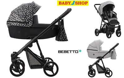 Stroller Bebetto Nitello 2in1 carrycot pram sport seat pushchair new