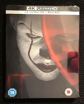 It (4K UHD & Blu-ray discs, 2019) UK Steelbook SEALED