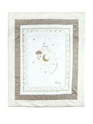 Silver Cross Cot Bed Quilt To The Moon