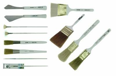 Bob Ross - Landscape Brush Set, Oil Based Painting Tools, 12 pieces