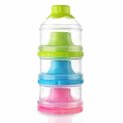 Accmor Baby Milk Powder Formula Dispenser, Non-Spill Stackable Snack containers