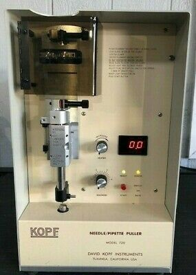 Kopf Needle Pipette Puller Model 720  Powers On Not Tested