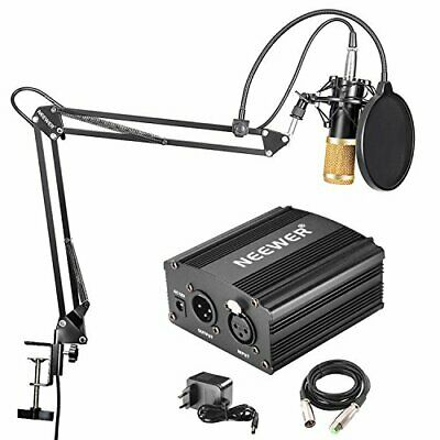 NEEWER NW800 MICROFONO A CONDENSATORE PROFESSIONALE NW35 STAND PER (Yhu)