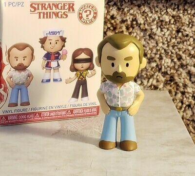 Stranger Thing's FUNKO Mystery Mini CHIEF JIM HOPPER (Date Night) 2019 Series 2